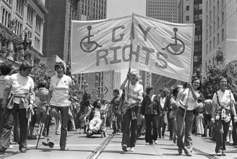 Pride in Pictures 1977: Queers with disabilities fight extra battles for visibility and equality