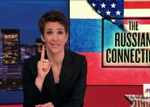 Rachel Maddow is now the most watched cable TV anchor in the nation