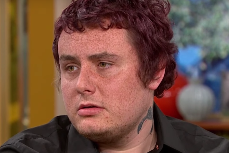 This guy says painkillers turned him gay. His dad says he always liked boys.