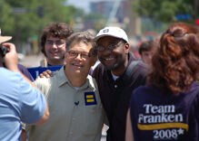 Will liberal champion Al Franken's replacement be George W. Bush's former lawyer?