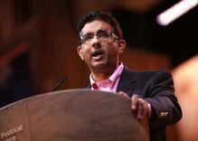 Anti-gay crackpot Dinesh D'Souza is the perfect choice for a Trump pardon