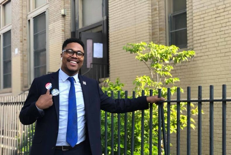 LGBTQ candidates made a strong showing in yesterday's primaries