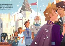 New children's book 'Prince & Knight' is just in time for the royal wedding