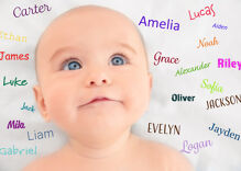 Here are the 10 most popular gender-nuetral baby names