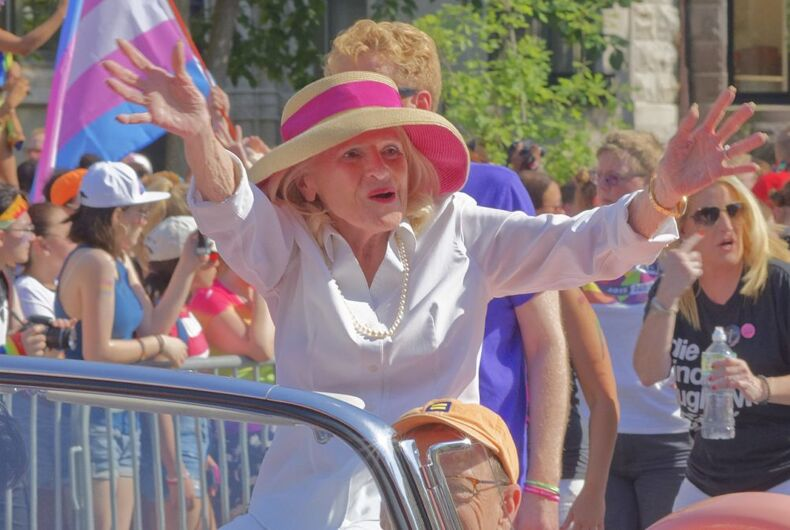 Seniors helped drive marriage equality. Now they are benefitting from it.