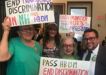 New Hampshire passes law protecting transgender people from discrimination