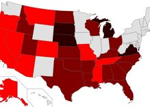 See if your state would ban marriage equality as the Supreme Court turns right