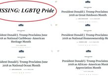 Trump ignores LGBTQ Pride proclamation in favor of 'National Ocean Month'