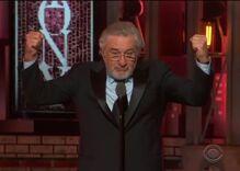 Robert De Niro's Tony rant was deeply satisfying & really stupid