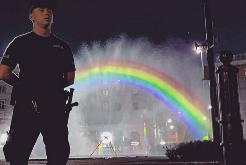 Warsaw Pride Rainbow