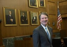Is Brett Kavanaugh angling to be the next Anthony Kennedy?