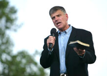 "Franklin Graham calls for ""God's Army"" to intervene in Georgia to save Republicans"