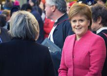 Scottish leader will kick off Pride parade instead of meeting with Trump