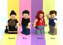 LEGO is considering a crazy accurate Will & Grace set