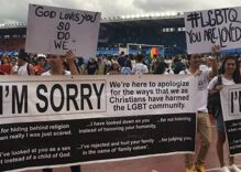 This church had the most amazing message for Pride: 'We're sorry'