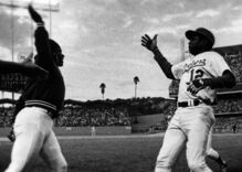 In 1977, a gay baseball player invented the high-five