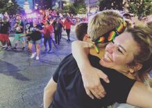 This Texas church offered 'free Mom hugs' at Pride. What happened next was amazing.