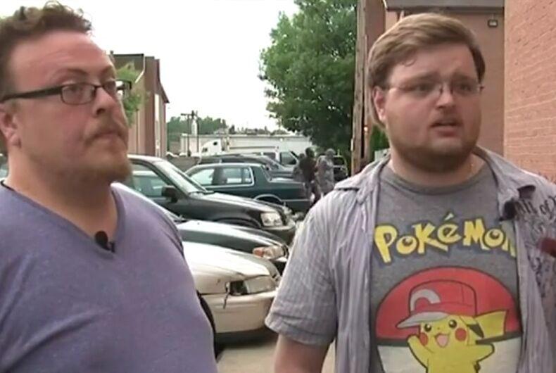 Michael Vaughn and Michael Coward