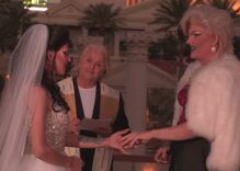 These drag queens said 'Yes to the Dress' Vegas-style