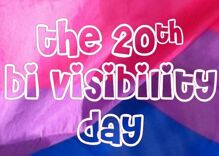 Bi Visibility Day is turning 20 & here's what you should know about it