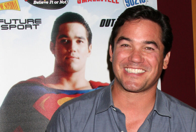 Dean Cain appearing at the