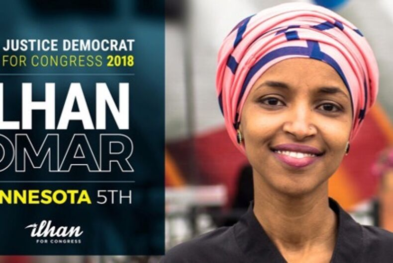 Ilhan Omar is running for Congress in Washington state.