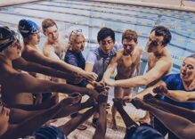 A gay swimmer & football player meet at the high school pool & it's the best ending ever