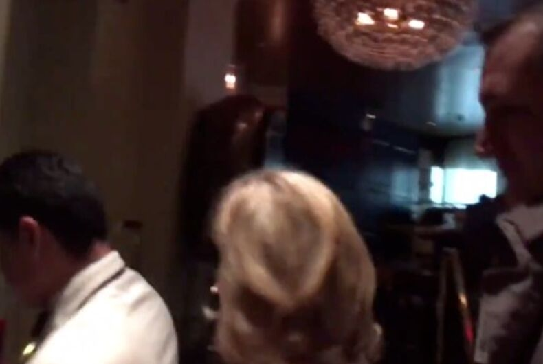 Ted Cruz and his wife flee the posh DC restaurant Fiola