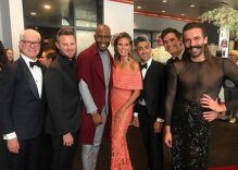 Jonathan Van Ness slayed the red carpet in a sheer dress at the Emmys