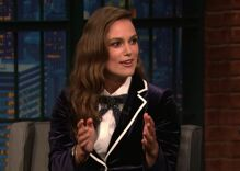 Keira Knightley was called 'disgusting' for going to prom with another girl