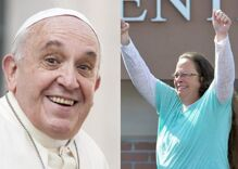Vatican admits Pope lied about meeting anti-gay clerk Kim Davis. He knew who she was.