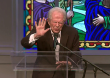 Pat Robertson celebrates that God is destroying North Carolina instead of his TV network