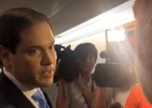 Marco Rubio threatens to 'take care of' Alex Jones in this heated exchange