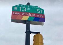 Philadelphia names city block in honor of marriage equality hero Edie Windsor