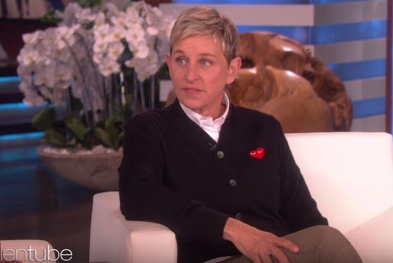 Ellen DeGeneres interviews Busy Philipps
