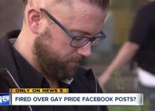 Gay minister shocked when church fires him for liking a photo of a same-sex wedding