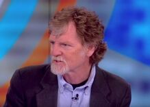 The homophobic Masterpiece Cakeshop baker did an ad opposing a gay candidate