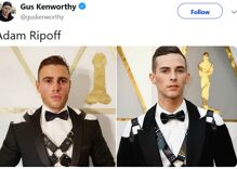 Gus Kenworthy wins Halloween with his Adam Rippon knockoff costume