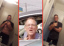 The gay Trump supporter is 'apologizing' after becoming internet famous for a racist hissy fit