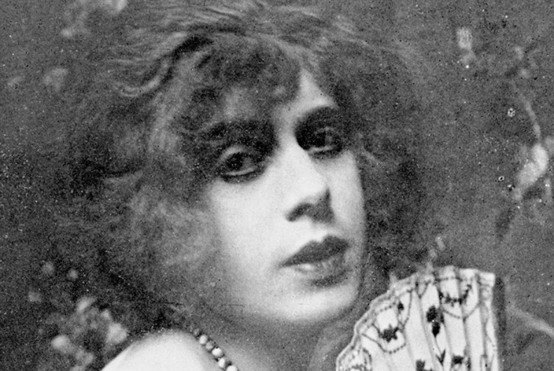Lili Elbe, pictured here in 1925, from her autobiography,