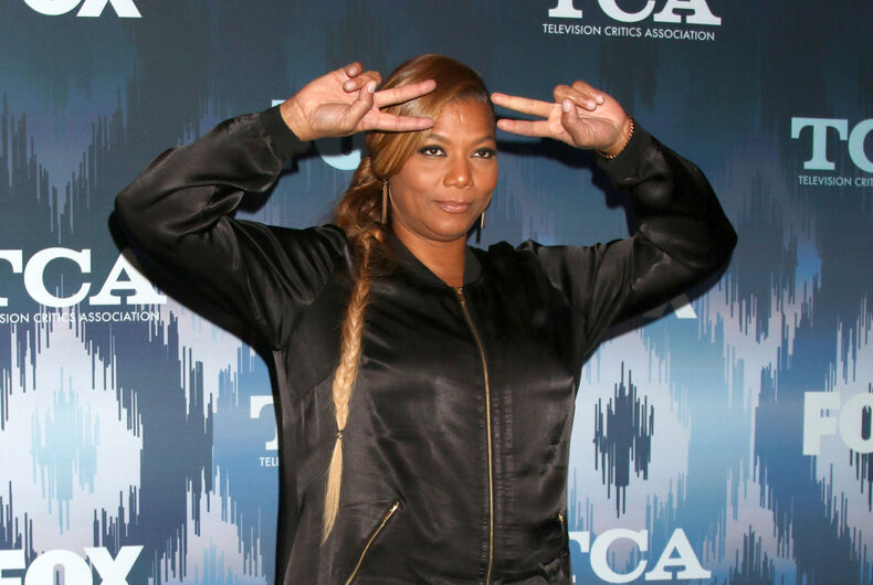 Queen Latifah at the FOX TV TCA Winter 2017 All-Star Party at Langham Hotel on January 11, 2017 in Pasadena, CA