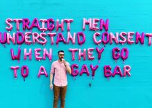 Gay artist explodes Twitter: 'Straight men understand consent when they go to a gay bar'