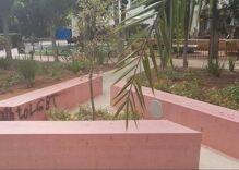 Anti-LGBTQ graffiti was found on a Holocaust memorial