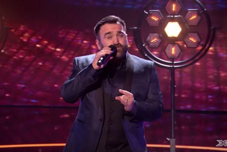 X Factor UK contestant Danny Tetley