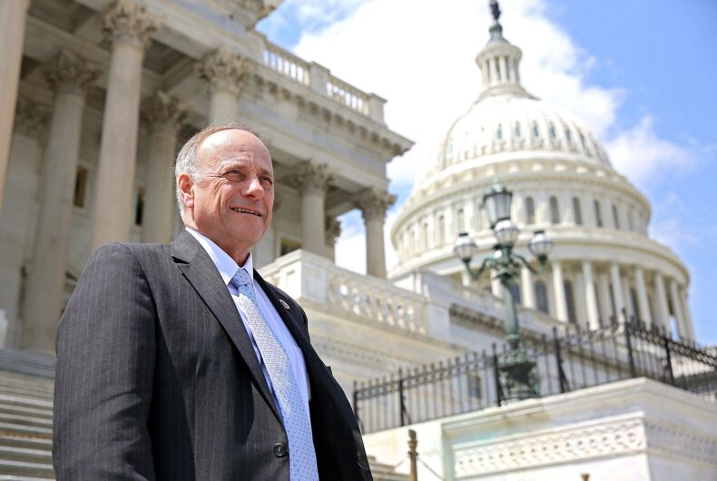 Hanging around with neo-Nazis isn't enough for Steve King to lose re-election