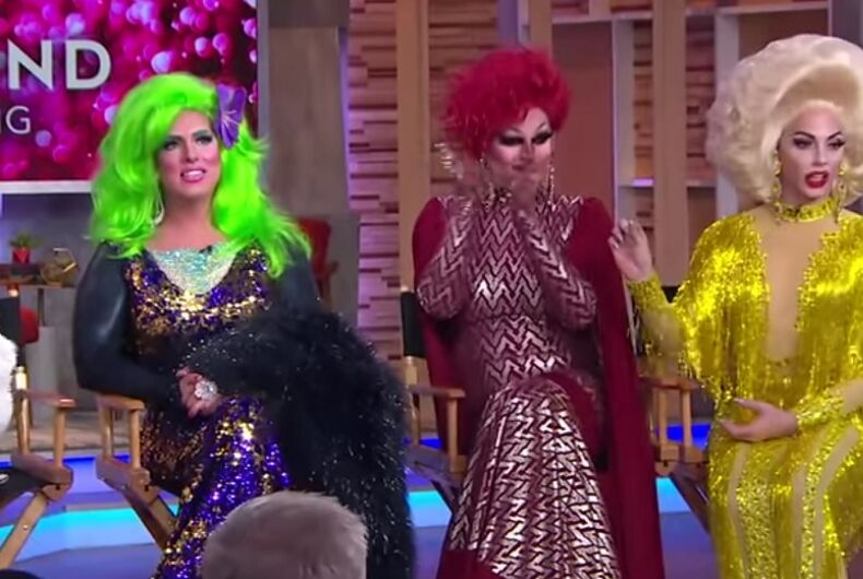 Desmond is Amazing, Hedda Lettuce, Shannel, and Alyssa Edwards on GMA Day.