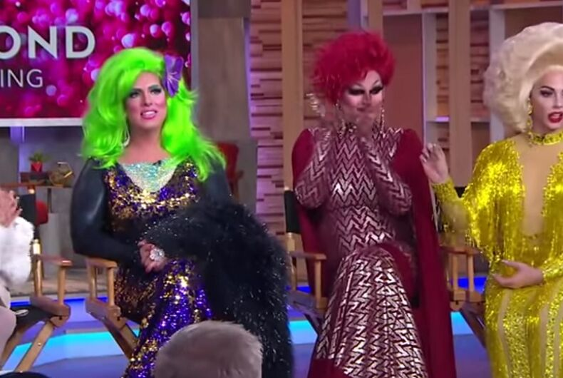 Desmond is Amazing, Hedda Lettuce, Shannel, and Alyssa Edwards on GMA Day.