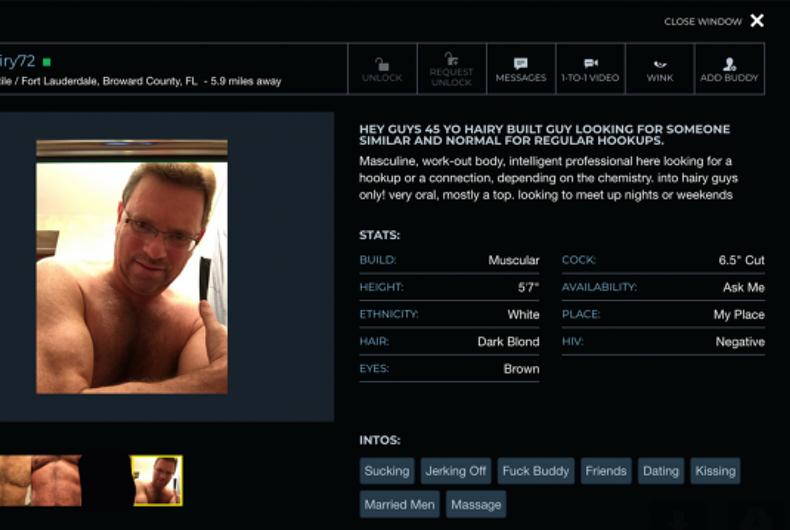 Norman Goldwasser's profile on Manhunt