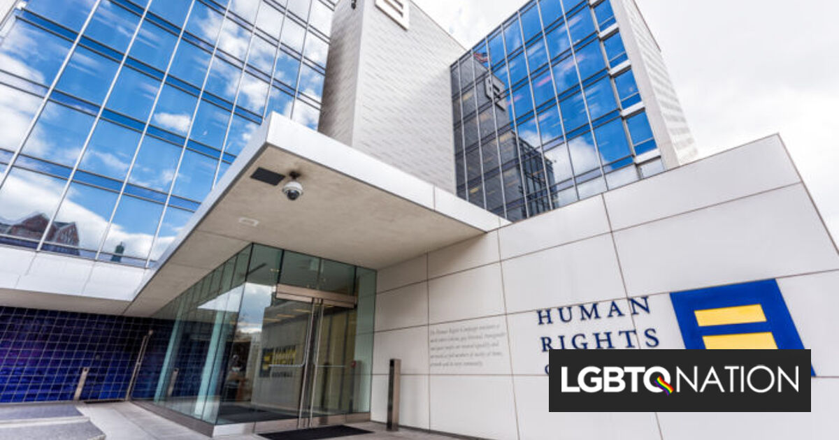 The Human Rights Campaign is imploding when it couldn't be needed more