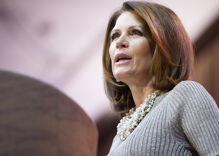 Once again, God told Michele Bachmann he's just not that into her